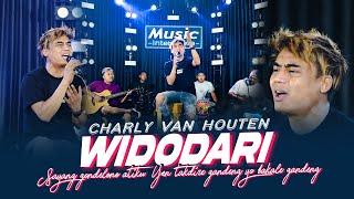 Download lagu Charly Van Houten - Widodari ( Music Live) Sayang gondelono atiku Yen takdire gandeng..
