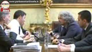 Beppe Grillo alla Camera dei Deputati