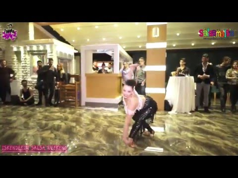 Ezgi Zaman Dance Performance - Iskenderun Salsa Weekend