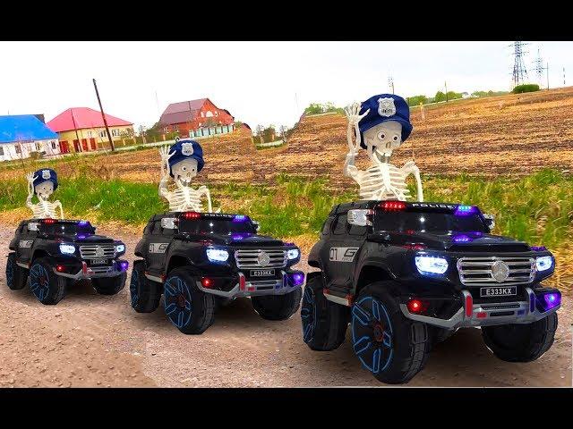 Сеня и Веселые Истории про Полицейские Машинки