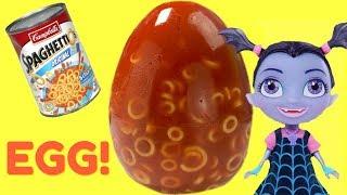 Spaghetti-o's Jello Egg & Disney Cubeez Treasure Hunt with Vampirina