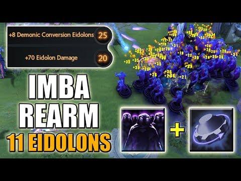 Enigma: +8 Eidolons Talent with Rearm = IMBA [My Personal EPIC Army] Dota 2 Ability Draft