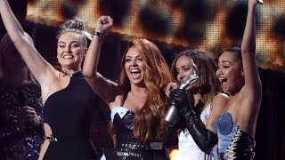 Little Mix THANK Their Exes During Acceptance Speech For First Ever Brit Award