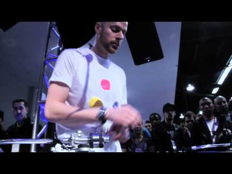 DMC World Champ DJ Vajra at NAMM 2012 - 