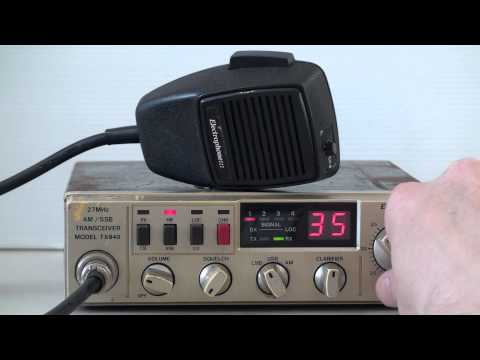 ELECTROPHONE TX840 CB RADIO