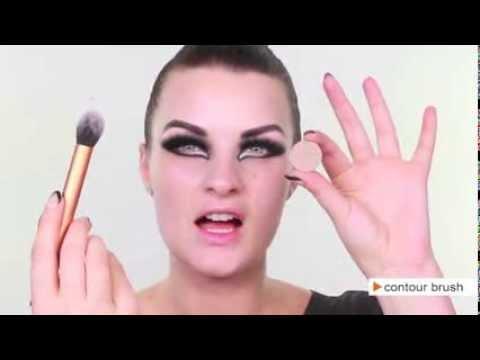 Evil Sorceress Makeup Tutorial