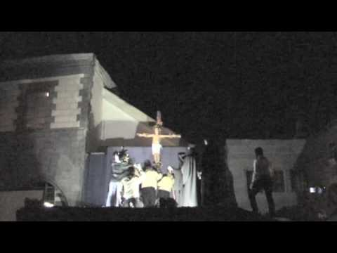 Crucifixion re-enactment in Damascus, Syria Video