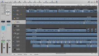 How to Create Multiple Crossfades in Logic Pro