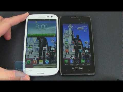 Samsung Galaxy S III vs Motorola DROID RAZR MAXX