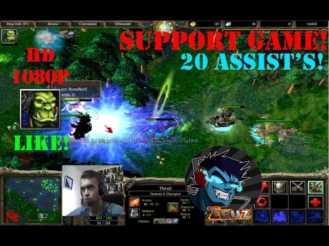 ★DoTa Thrall, Disruptor  - GamePlay | Guide★ Support Game! More assists!★