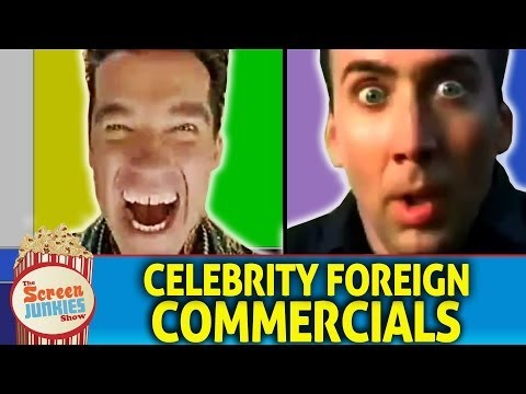 Celebrity Foreign Commercials