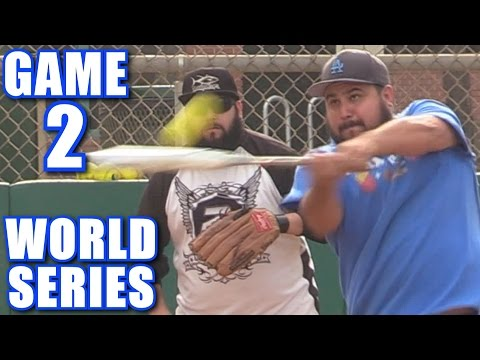 WORLD SERIES GAME 2! | On-Season Softball Series