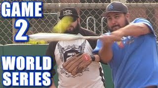 WORLD SERIES GAME 2! | On-Season Softball Series