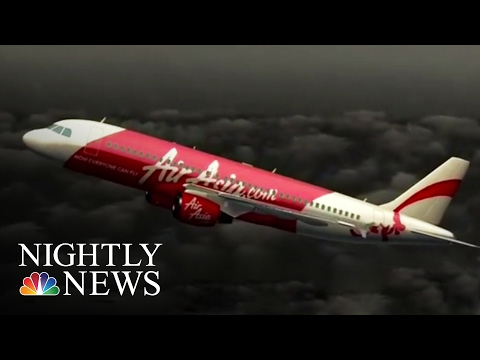 AirAsia Jet Likely Stalled Before Crash | NBC Nightly News
