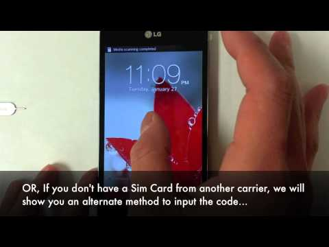 How Unlock LG Optimus G (E973. E971. E970) in 5 Minutes! At&t. Rogers. Telus. Bell by Unlock Code