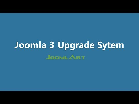 Joomla 3 Video tutorials - Joomla update system