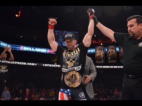 Bellator MMA Brandon Halsey Submits Alexander Shlemenko in 35 Seconds