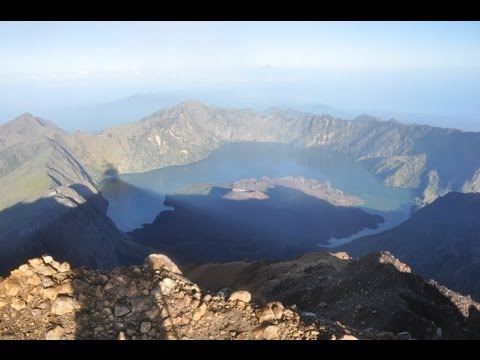 Gunung Rinjani Trekking 2012 Video