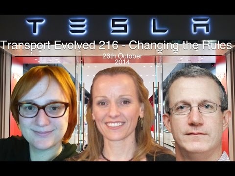 Transport Evolved News Panel Talk Show 216: Changing the Rules