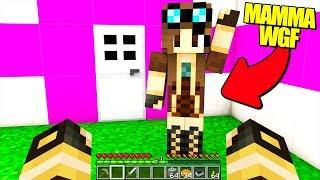 LA MIA MAMMA GIOCA A MINECRAFT!! (Minecraft Grief)