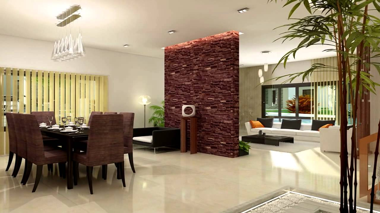 Luxury villa project at cochin youtube for Interior design villa project
