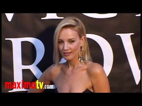 Brianne Davis Gorgeous at HATCHET 2 Premiere