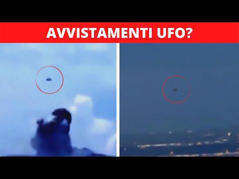 5 AVVISTAMENTI UFO Ripresi Da Una VIDEOCAMERA