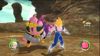 Dragon Ball: Raging Blast 2 - Majin Vegeta VS Majin Buu