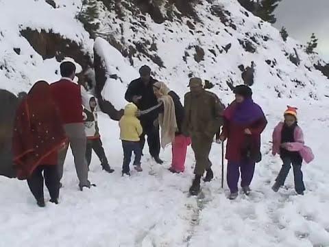 Winter Tourism in Azad kashmir PKG ,Mirza Aurangzeb Jarral,Snow fall,Dunyatv Muzaffarabad Bureau