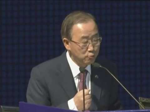 Secretary General of United Nations Ban Ki Moon's speech at Vibrant Gujarat Summit 2015
