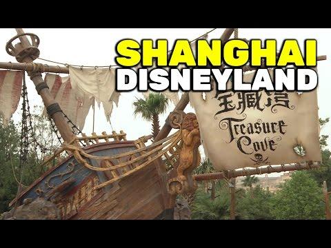 Treasure Cove overview at Shanghai Disneyland grand opening