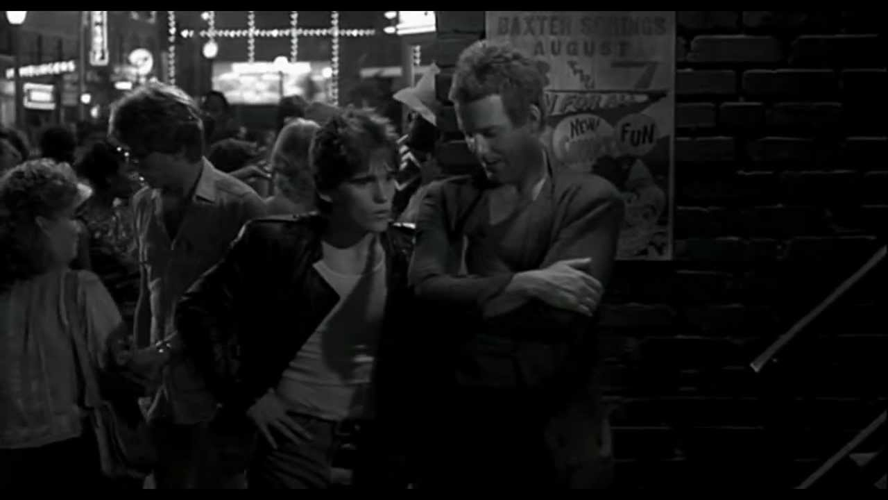 S e hinton in rumble fish 1983 youtube for Rumble fish movie