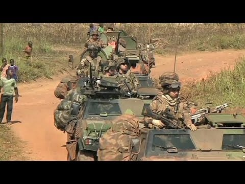 Two French soldiers killed during conflict in the Central African Republic
