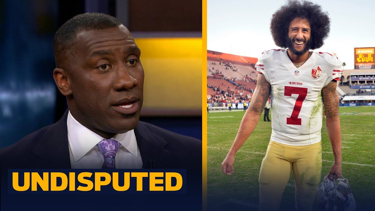 Mike Vick says Colin Kaepernick needs to cut his hair - Shannon and Rob Parker respond | UNDISPUTED
