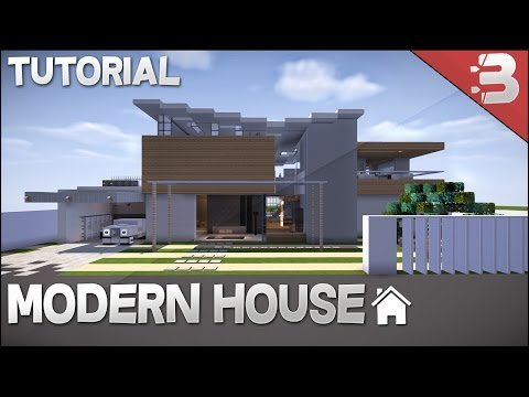 ✔ Minecraft: How to Build Modern Beach House