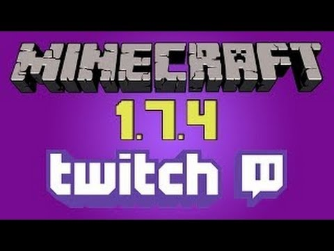 How to Broadcast to Twitch.TV from Minecraft 1.7.4 Tutorial