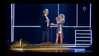 Andrea Bocelli And Helene Fischer If Only Live At 39 Schlager Champions 39