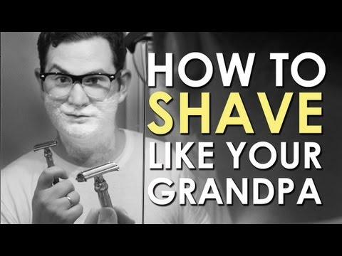 How to Shave Like Your Grandpa | AoM Instructional