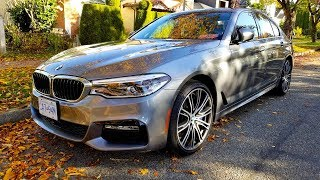 2018 BMW 5 Series Review--DISAPPOINTING DESIGN