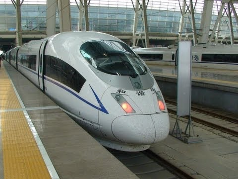 Bullet Train - Shanghai To Beijing - 819 Miles In 4 Hrs 55 Mins video