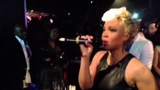 "Yummy Bingham takes Fantasia to church "" Do Not Pass Me By ' Live at Love Jones NYC"