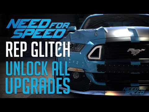 Need for Speed (2015) REP Glitch : Rank Up Fast & Unlock All Upgrades
