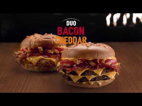Burger King apuesta por el foodporn para lanzar la Duo Bacon Cheddar