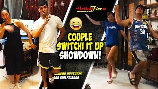 "LAUGHTRIP TO! RAVENA BROTHERS AND COUPLE ""SWITCH IT UP"" DANCE CHALLENGE!"