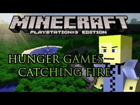 Minecraft PS3: Hunger Games Catching Fire! (FAIL)
