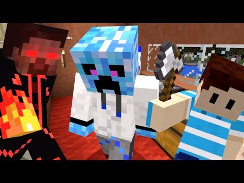 ГРИФЕР против НУБика в Майнкрафте - KokaPlay Minecraft Realms Server