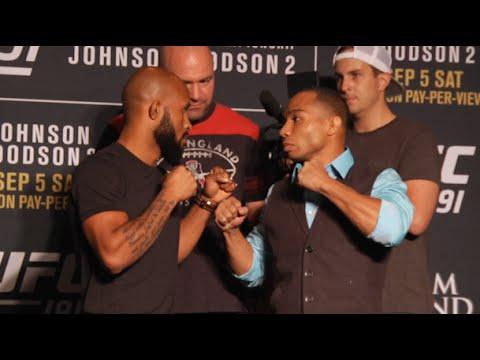 UFC 191: Media Day Highlights