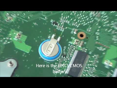 How to Disassemble Toshiba Satellite A200 Laptop and Locate CMOS Battery