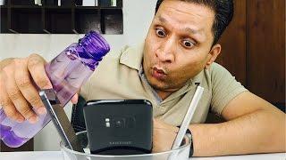 Galaxy S8 Water Drop Test | Pani me aag lagaye | Sharmaji Technical
