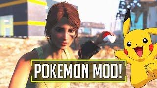 Fallout 4 Console Mods - NUKAMON MOD! (Showcase)